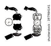 banking symbol  bank symbol ... | Shutterstock .eps vector #397984141