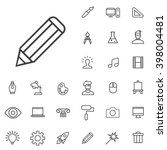 linear design icons set....
