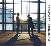 businessmen deal business... | Shutterstock . vector #398024389