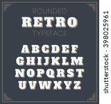 cool vector set of rounded... | Shutterstock .eps vector #398025961