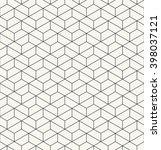 vector seamless pattern. modern ... | Shutterstock .eps vector #398037121