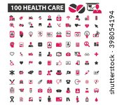 health care icons  | Shutterstock .eps vector #398054194