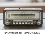 Old Car Radio  Retro Style