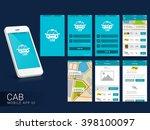 online cab mobile app ui  ux...