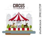 carousel icon design  | Shutterstock .eps vector #398112739