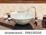 beautiful luxury sink... | Shutterstock . vector #398130334