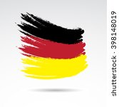 traditional colors and flag of... | Shutterstock . vector #398148019