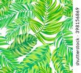 tropical pattern. seamless... | Shutterstock .eps vector #398156869