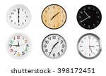 Collage Of Round Wall Clocks ...