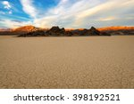 Sunset At Racetrack Playa In...