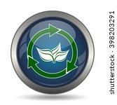 recycle arrows icon. internet... | Shutterstock . vector #398203291