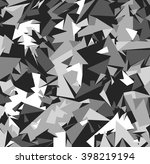 abstract vector grey military... | Shutterstock .eps vector #398219194