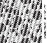 vector seamless round pattern.... | Shutterstock .eps vector #398234299