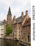bruges architecture | Shutterstock . vector #39823579