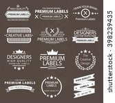 design elements  business logo... | Shutterstock .eps vector #398239435
