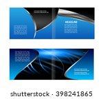 vector business brochure ...