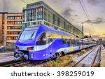 Local Train At Munich Main...