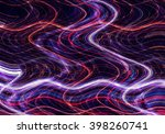 colorful wavy background... | Shutterstock . vector #398260741