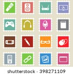 media simply symbol for web... | Shutterstock .eps vector #398271109