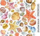 Sea Shell Seamless Pattern....