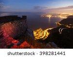 cap d'ail during sunset. cap d... | Shutterstock . vector #398281441