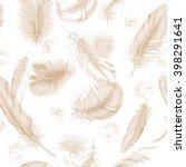 hand drawn set of various...   Shutterstock .eps vector #398291641