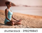young beautiful healthy woman...   Shutterstock . vector #398298865