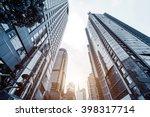 metropolis of shanghai's modern ... | Shutterstock . vector #398317714