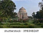 lodhi gardens  new delhi  bara...   Shutterstock . vector #398348269
