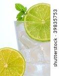 lime soft drink | Shutterstock . vector #39835753