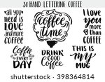 Quote. Coffee. Hand Drawn...