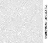Seamless Pattern On Light Gray...