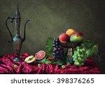 fruit still life    Shutterstock . vector #398376265