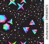 seamless abstract vector... | Shutterstock .eps vector #398384071