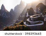 The Winding Road Of Tianmen...