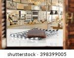 window and desk  | Shutterstock . vector #398399005