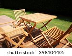Set Of Wooden Table And Chairs...