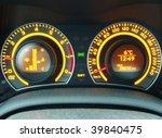 car's dashboard | Shutterstock . vector #39840475