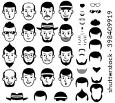 Faces Icons  Face With Beard ...