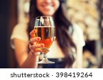 leisure  drinks  degustation ... | Shutterstock . vector #398419264