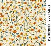 floral pattern | Shutterstock .eps vector #398432671