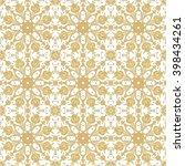 seamless ornamental texture | Shutterstock .eps vector #398434261