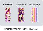 big data transformed through... | Shutterstock .eps vector #398469061