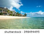 beautiful views of the resort... | Shutterstock . vector #398494495
