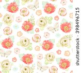 seamless soft colorful pattern... | Shutterstock .eps vector #398496715