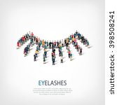 eyelash people | Shutterstock . vector #398508241