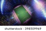 stadium confetti | Shutterstock . vector #398509969