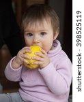 baby girl | Shutterstock . vector #398525119