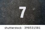 number seven  7 | Shutterstock . vector #398531581