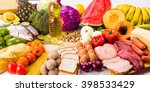 healthy food | Shutterstock . vector #398533429